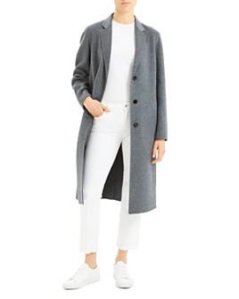 Theory - Single-Breasted Long Coat