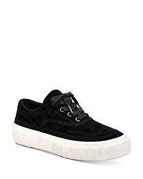 ALLSAINTS - Women's Mercia Suede Platform Sneakers