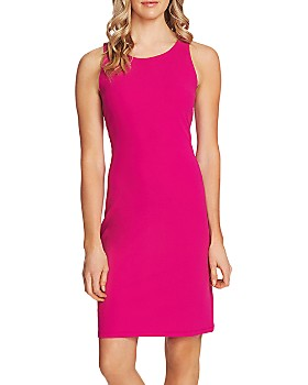 VINCE CAMUTO - Sleeveless Ponte Sheath Dress