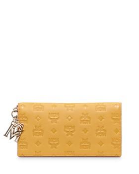 MCM - Klara Monogrammed Leather Bifold Wallet