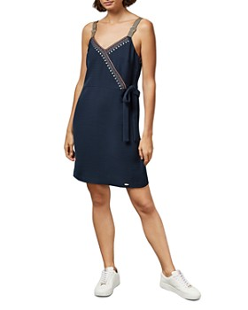 Ted Baker - Aelicia Color by Numbers Wrap Dress