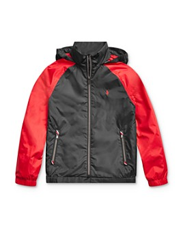 Ralph Lauren - Boys' Packable Hooded Jacket, Big Kid - 100% Exclusive