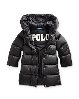 Ralph Lauren - Girls' Quilted Down Coat - Big Kid
