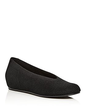 Eileen Fisher - Women's Knit Wedge Flats