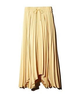 J.CHUNG by W CONCEPT - Folded Pleats Skirt