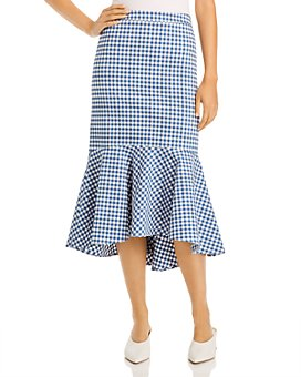 Your name Here by W CONCEPT - Gingham Skirt