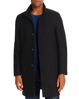 Theory - Belvin Tailored Technical Regular Fit Topcoat