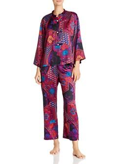 Natori - Mandarin Empress-Print Pajama Set