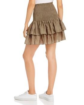 Rebecca Minkoff - Amari Ruffled Smocked Mini Skirt