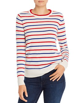 Madeleine Thompson - Gideon Striped Cashmere Sweater