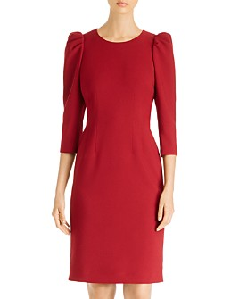 Kobi Halperin - Jody Puff-Sleeve Sheath Dress