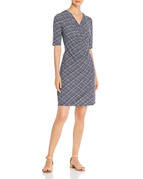 Tommy Bahama - Printed Faux-Wrap Dress