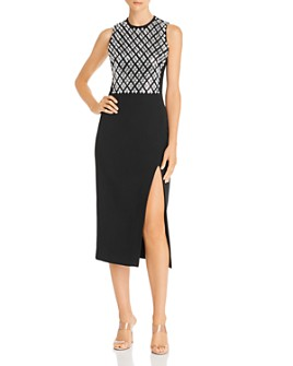David Koma - Embellished Sleeveless Dress