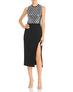 David Koma - Embellished Sleeveless Dress
