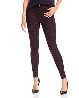 AQUA - Printed Five-Pocket Skinny Pants - 100% Exclusive