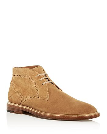 Burberry - Men's Barry Brogue Suede Chukka Boots
