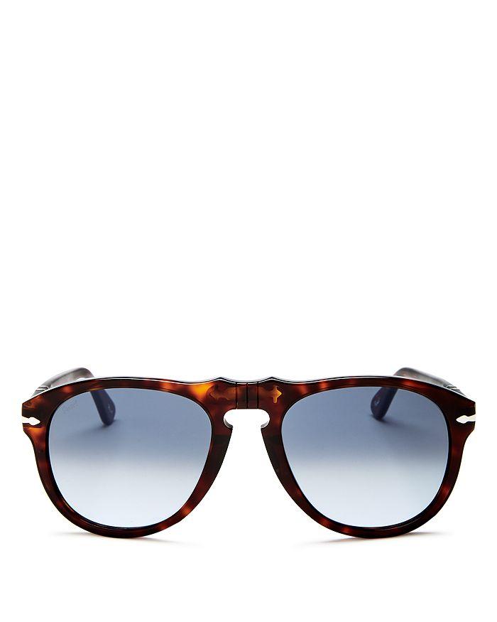 Persol - Men's Round Sunglasses, 54mm