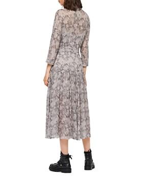 ALLSAINTS - Eley Midgard Snake Print Midi Dress