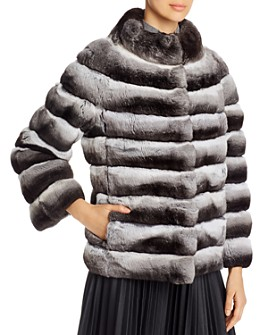 Maximilian Furs - Short Chinchilla Jacket - 100% Exclusive