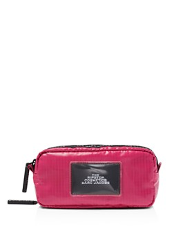 MARC JACOBS - Double-Zip Ripstop Nylon Cosmetics Case