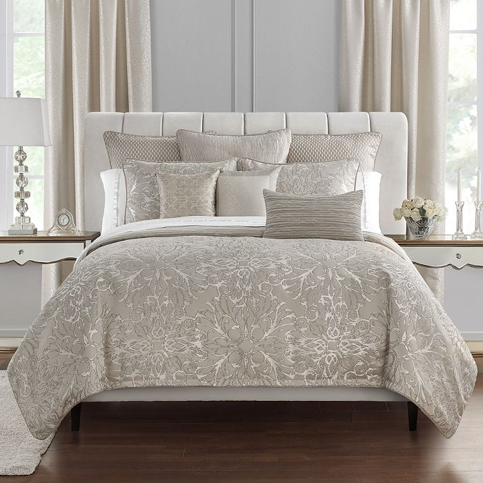 Waterford - Arianna Reversible 3-Piece Duvet Cover Set, Queen