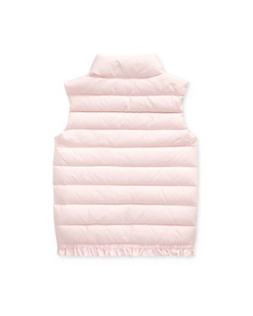 Ralph Lauren - Girls' Ruffle-Hem Down Vest - Little Kid