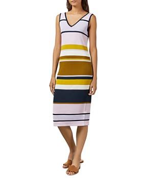 Ted Baker - Izlie Striped Midi Dress
