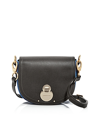 Longchamp Wild Small Color-Block Leather & Suede Crossbody (Clearance)