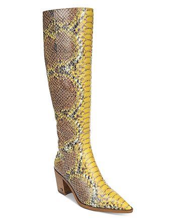 Sam Edelman - Women's Lindsey Western Tall Boots