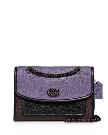 COACH - Parker Color-Block Convertible Shoulder Bag - 100% Exclusive