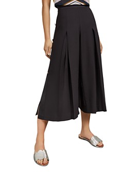 Ted Baker - Martina Button Trim Slit-Leg Culottes