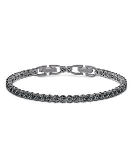 Swarovski - Deluxe Black Diamond Tennis Bracelet