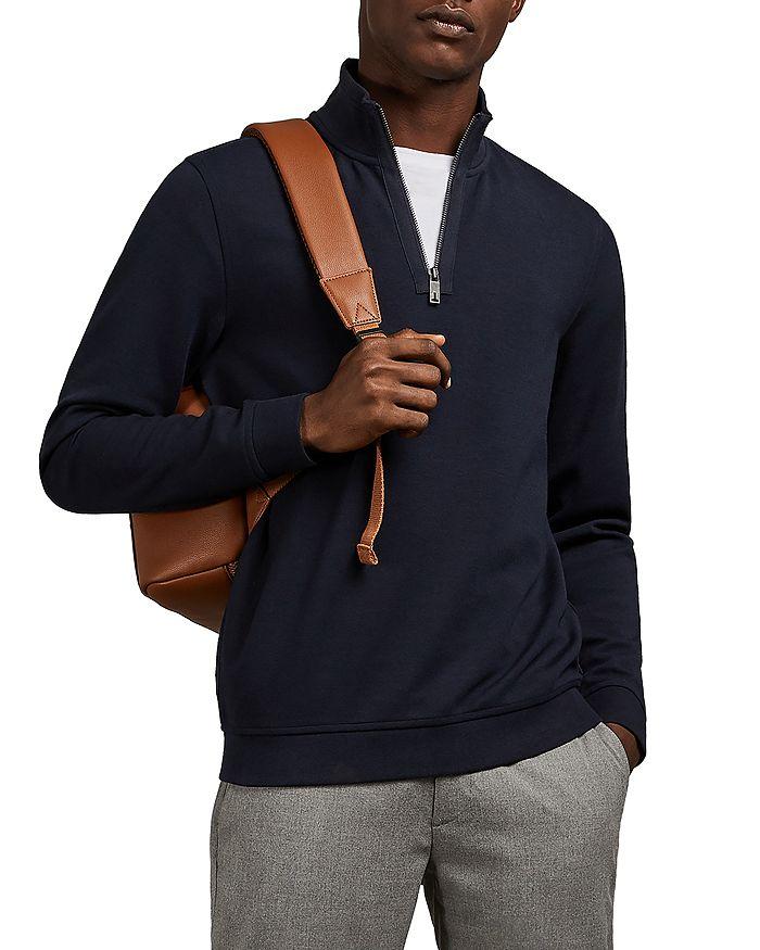 Ted Baker - MMB Sawce Funnel Neck Half-Zip Sweater - 100% Exclusive