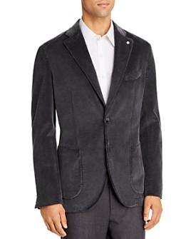 L.B.M - Corduroy Slim Fit Jacket