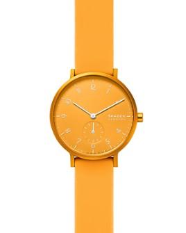 Skagen - Aaren Kulør Silicone Strap Watch, 36mm
