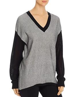 Lyssé - Helen Mixed-Knit Sweater