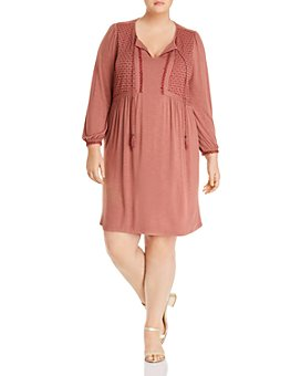 Daniel Rainn Plus - Embroidered Dress