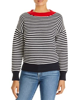Daniel Rainn - Striped Crewneck Sweater