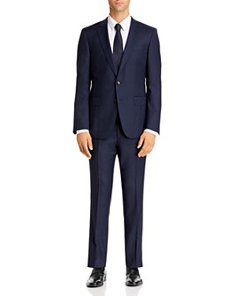 BOSS - Huge/Genius Small Tonal Check Slim Fit Suit - 100% Exclusive
