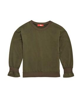 AQUA - Girls' Bell-Cuff Sweatshirt, Big Kid - 100% Exclusive
