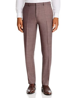 HUGO - Hets Textured Solid Extra Slim Fit Suit Pants