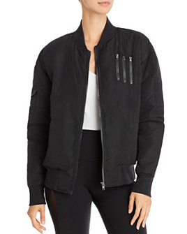 Alo Yoga - Squad Down Bomber Jacket