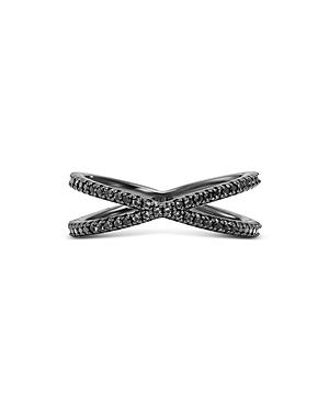 Michael Kors Nesting Ring in Black Ruthenium-Plated Sterling Silver