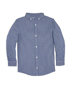 Vineyard Vines - Boys' Gingham Performance Shirt - Little Kid, Big Kid