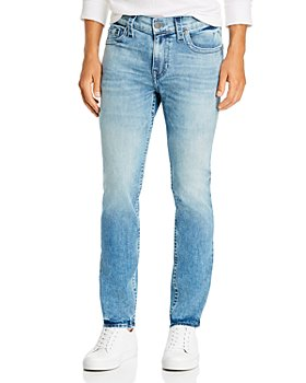 True Religion - Rocco No Flap Slim Fit Jeans in Light Ego
