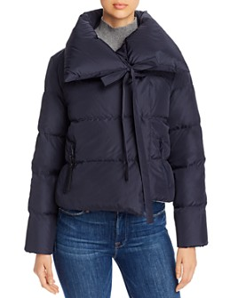 Bacon - Oversized Cropped Down Coat