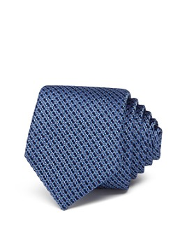 Ted Baker - Basket-Weave Flower Skinny Necktie