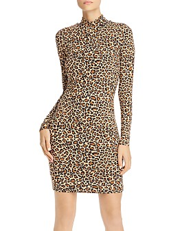 Bardot - Leopard Print Body-Con Dress