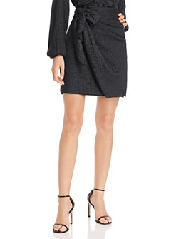 GUESS - Seeley Faux Wrap Skirt