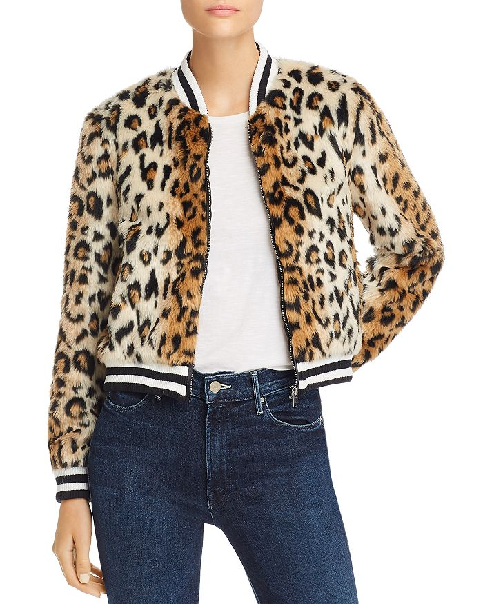 Jack by BB DAKOTA - Leopard Print Faux Fur Jacket
